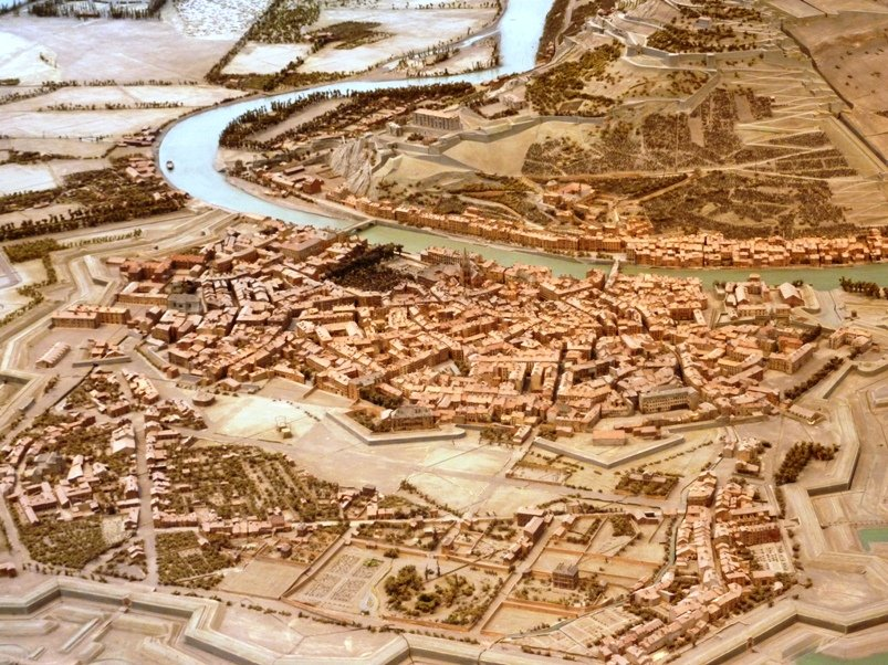 Plan-relief de Grenoble en 1848 plans-relief-grenoble-1